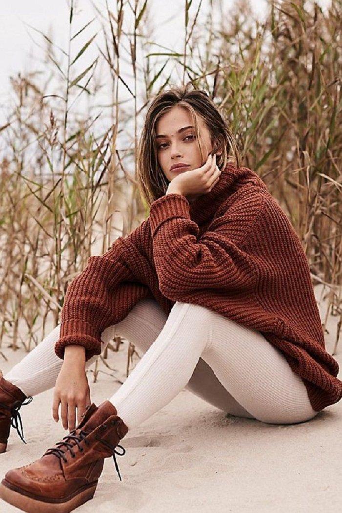мужские и женские свитера
