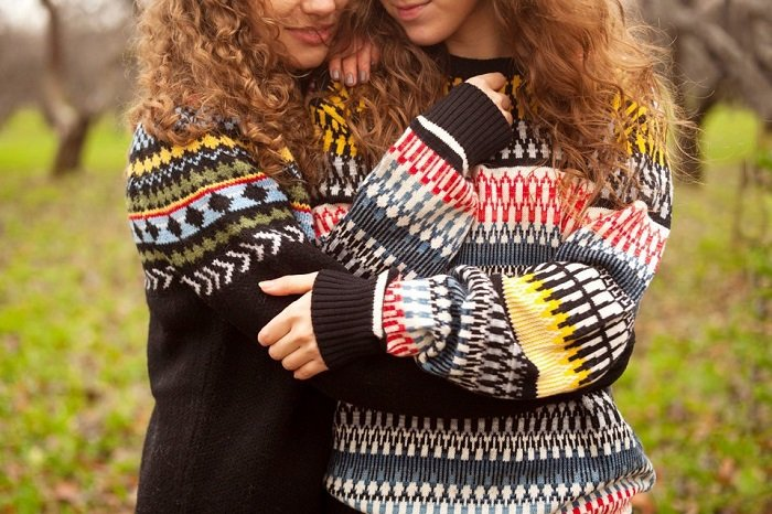 женские свитера крупной вязки