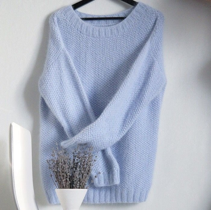 женские свитера из толстой пряжи спицами