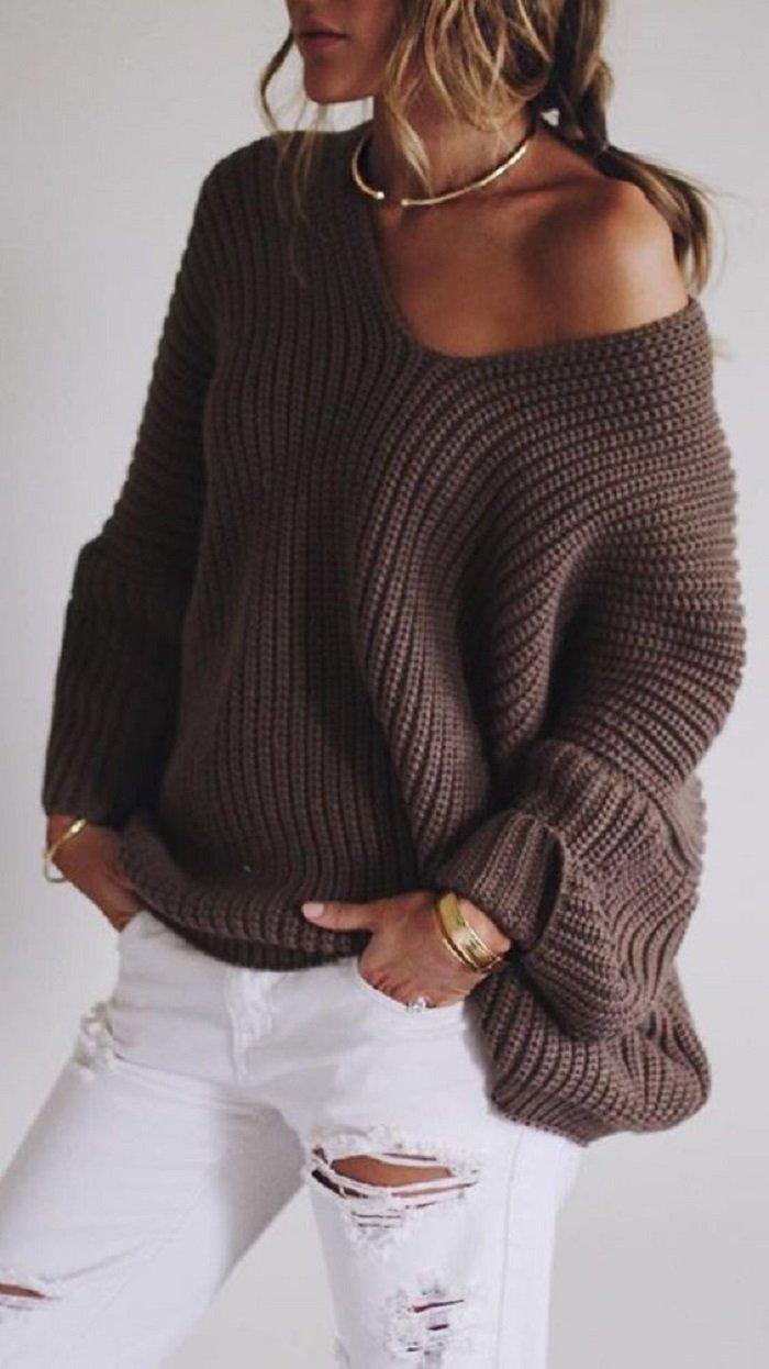 женские свитера и кофты