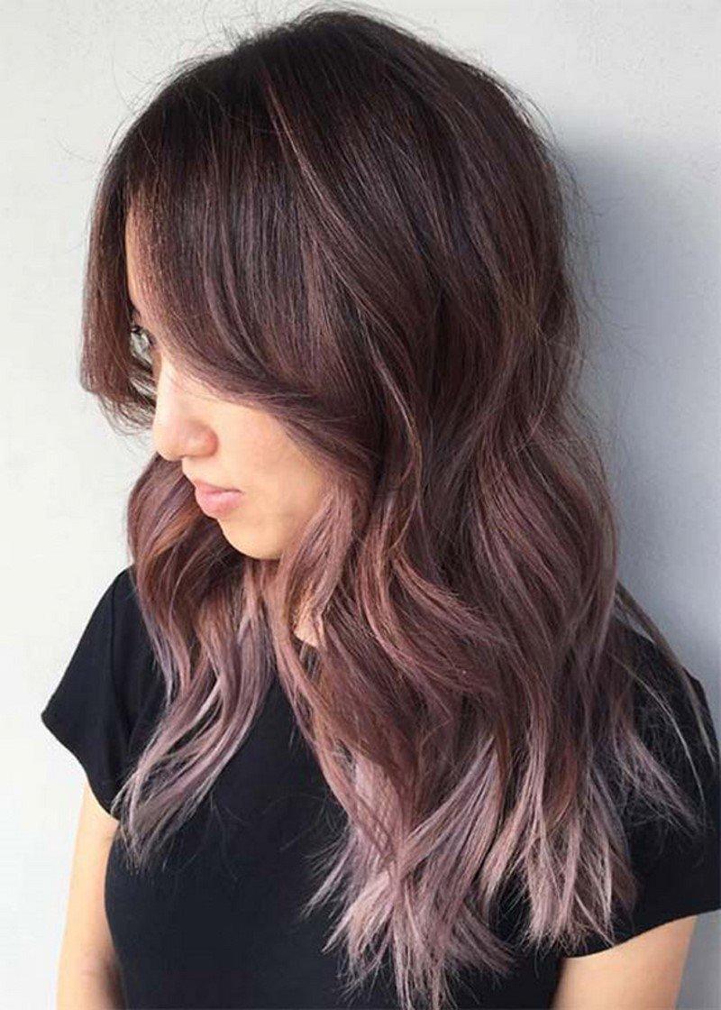 модное окрашивание длинных волос