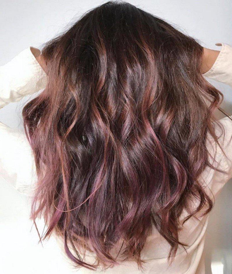 шоколадная лилия цвет волос