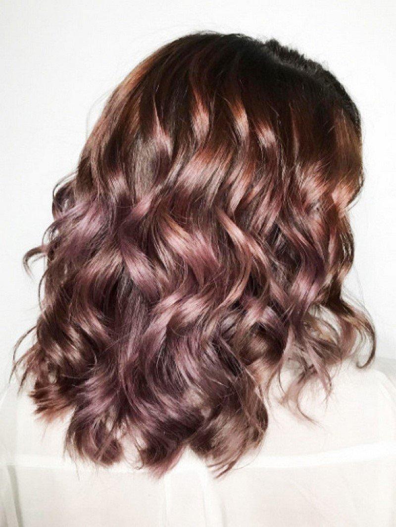 модное окрашивание для русых волос