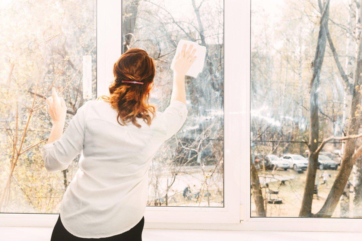 Наблюдение за немецким соседом, который удивительно быстро моет окна Советы,Дом,Окна,Порядок,Уборка,Чистота