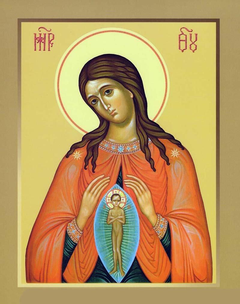 молитва богородице о детях