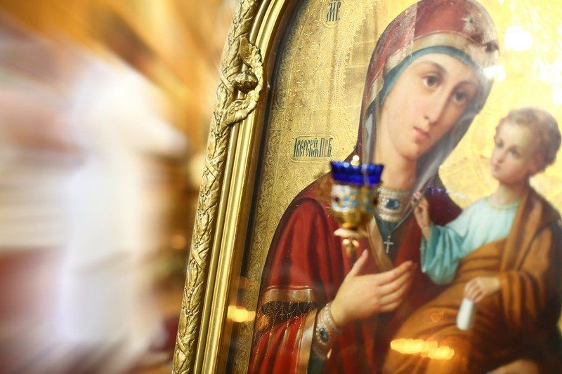 молитва богородице в дорогу