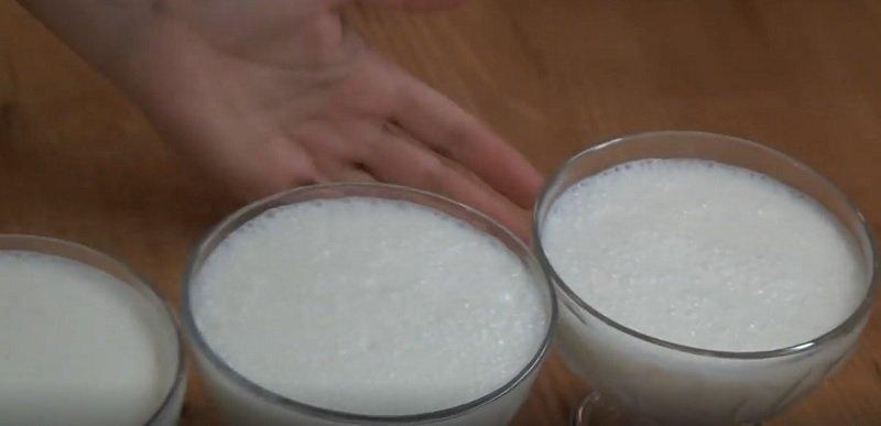 молочный желейный десерт