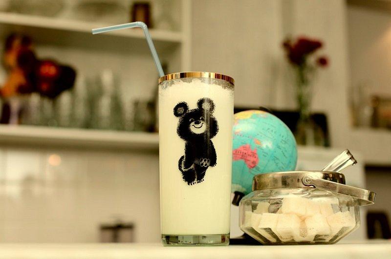 молочный коктейль советский