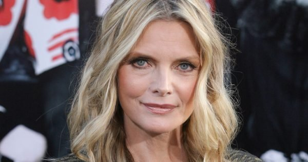 Actress Michelle Pfeiffer arrives at Warner Bros. Pictures World Premiere of 'Dark Shadows' on May 7 2012 at Graumans Chinese Theatre in Hollywood, Ca.