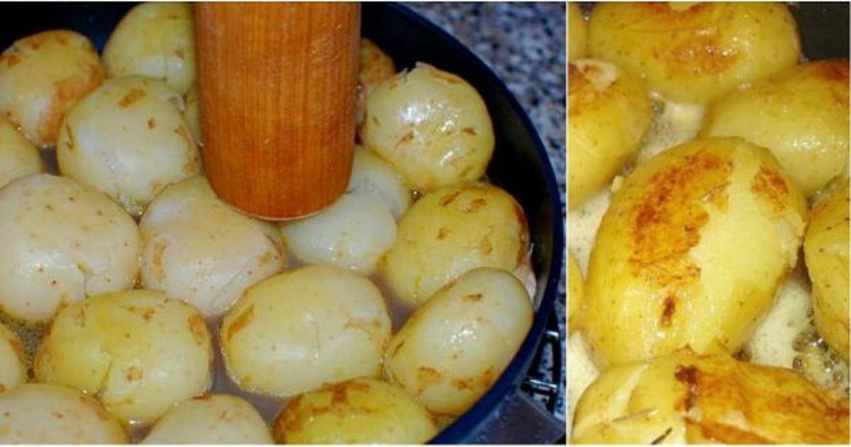 Как вкусно сделать картофельное 630