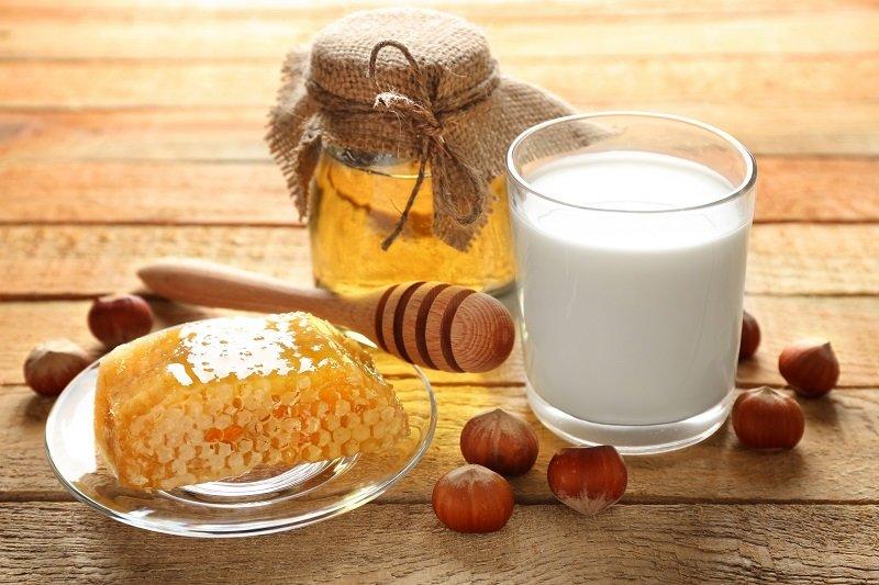 молоко с медом как готовить