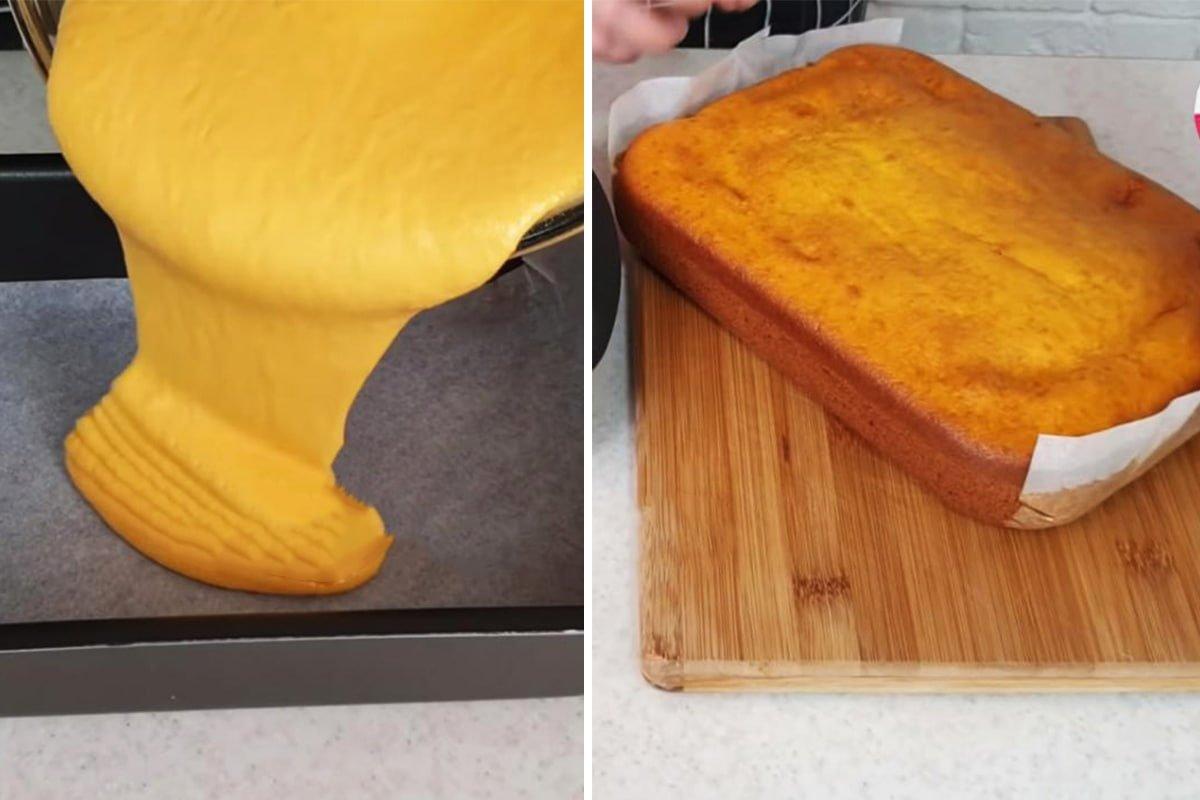Торт, который не нужно раскатывать и пропитывать Кулинария,Выпечка,Десерты,Духовка,Кремы,Морковь,Сладости,Торты