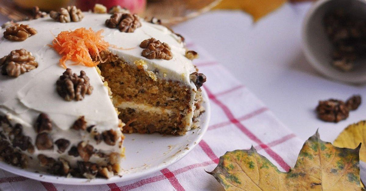 Признанный всеми морковный торт. Не только чрезвычайно вкусно, но и безопасно для фигуры!
