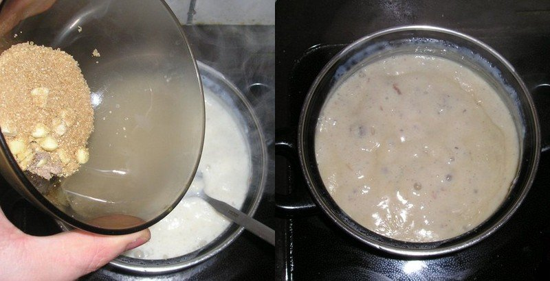 мороженое в мультиварке без сливок