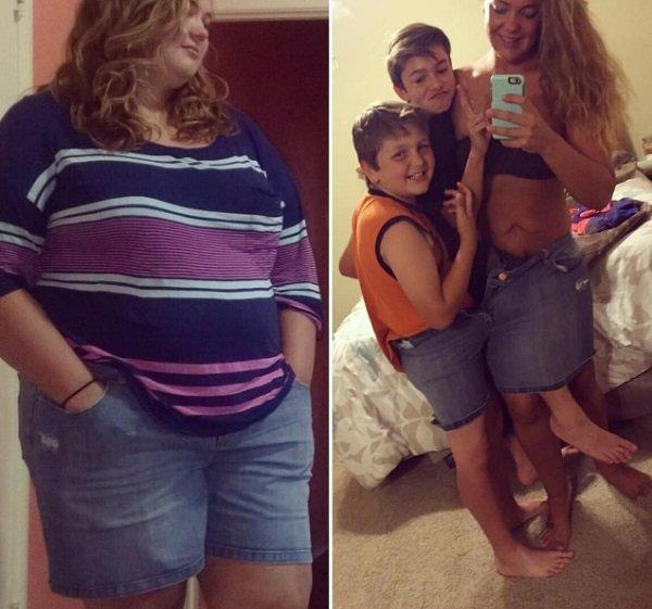похудение до и после реальные фото