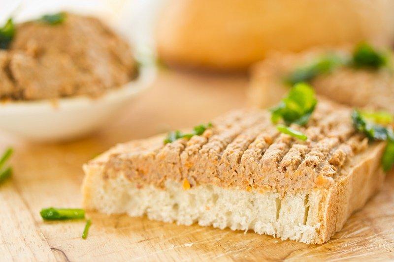 домашняя намазка на хлеб