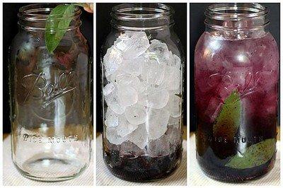вода с шалфеем и ежевикой