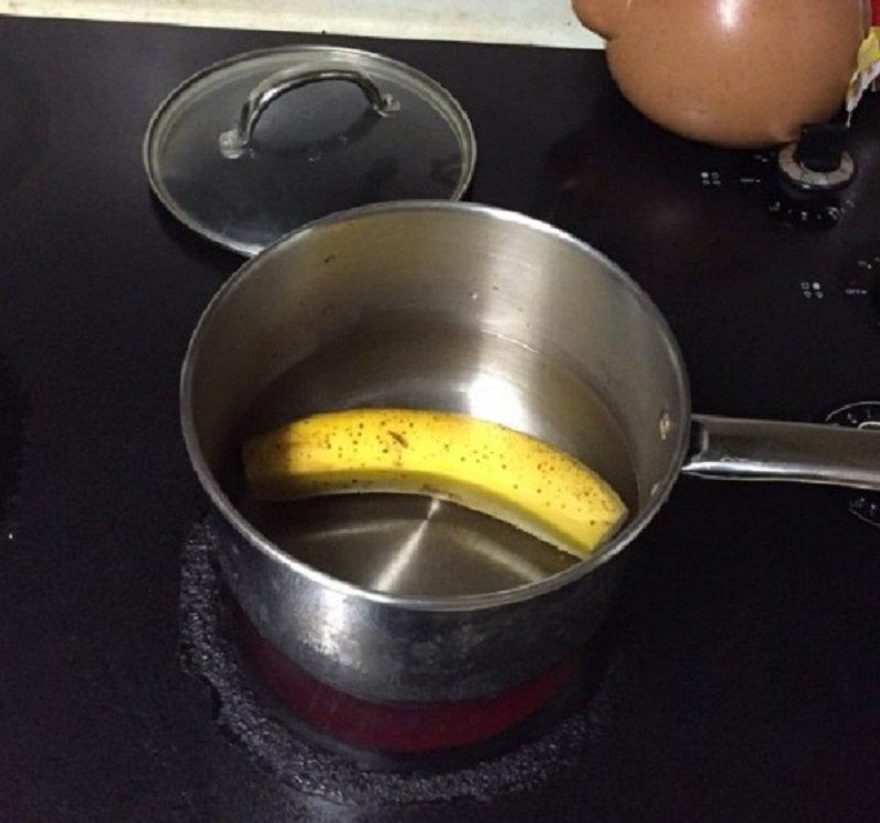 напиток из банана