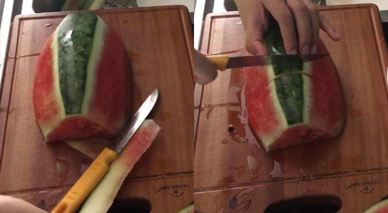 Нарезка арбуза