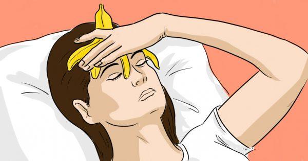 Всю ночь спала с банановой кожурой на лбу. Узнав, зачем, ты поступишь таким же образом!