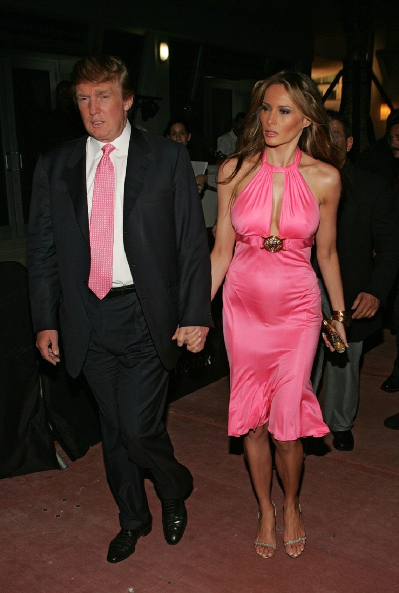 мелания трамп без нижнего белья