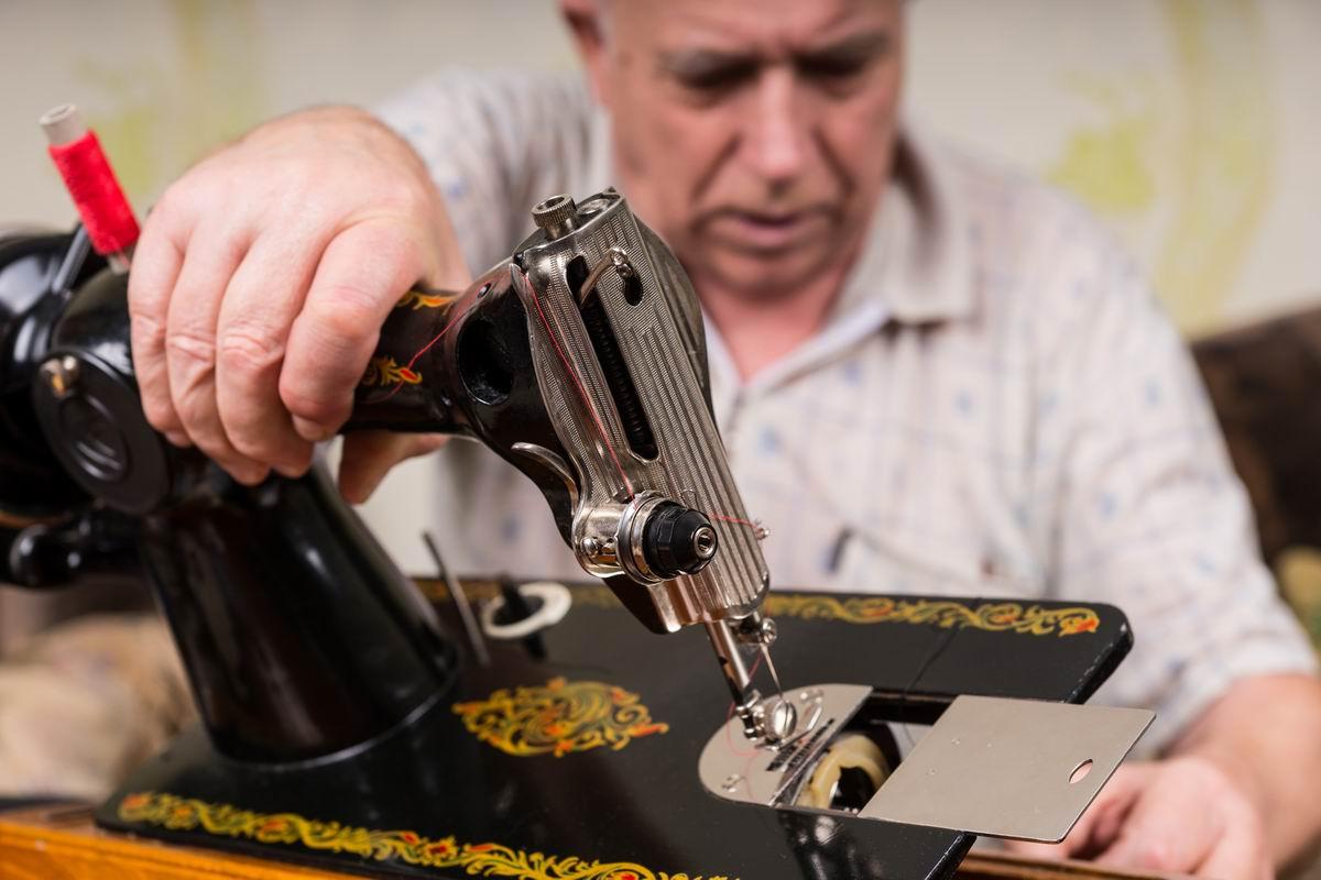 настройка швейной машинки чайка