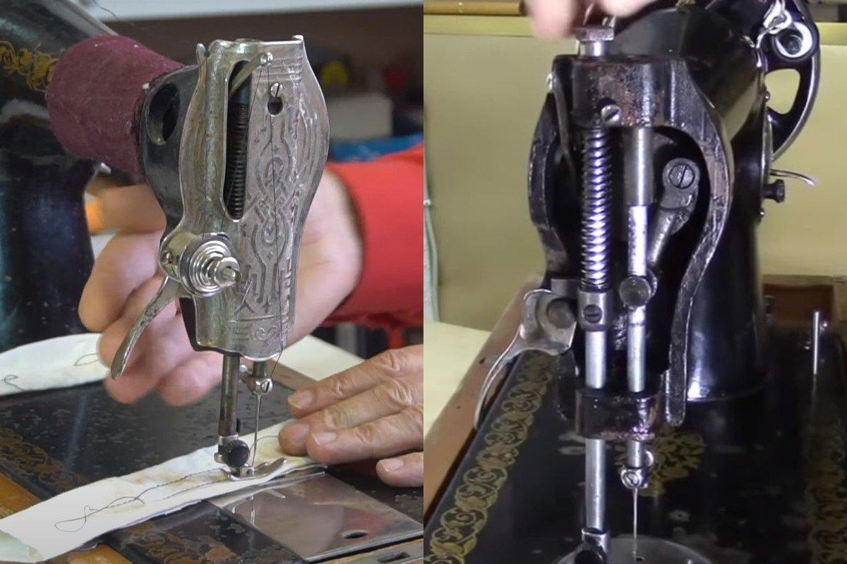 настройка швейной машины для вышивки