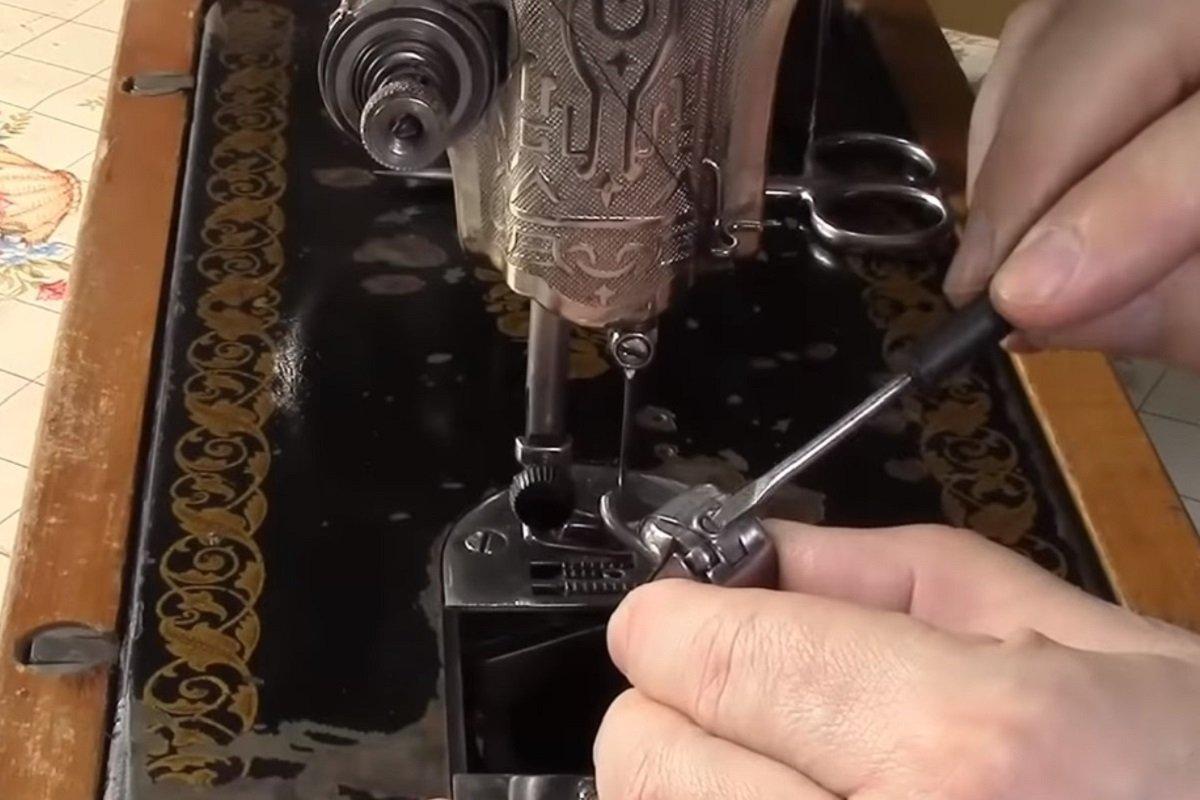 настройка иглы швейной машинки