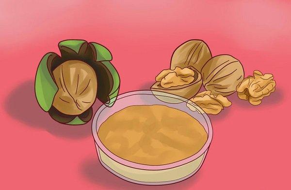 окрасить волосы грецким орехом
