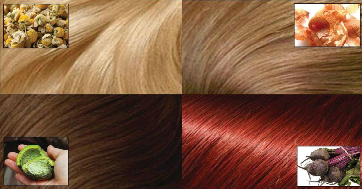 Чем покрасить волосы в домашних условиях народные средства