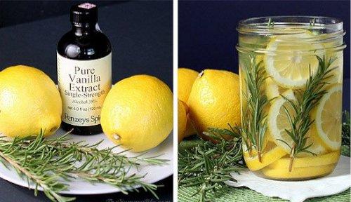 лимон и ваниль