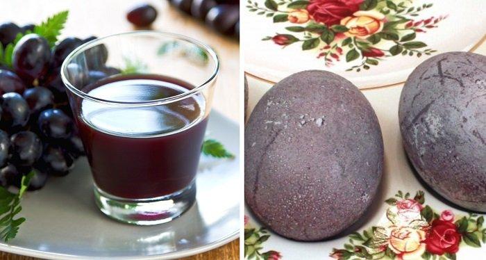 Натуральные красители для яиц и как их сделать