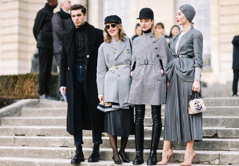 гости недели моды в париже