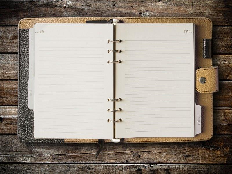 кожаный ежедневник