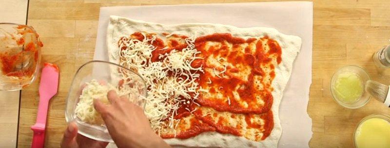 необычная пицца