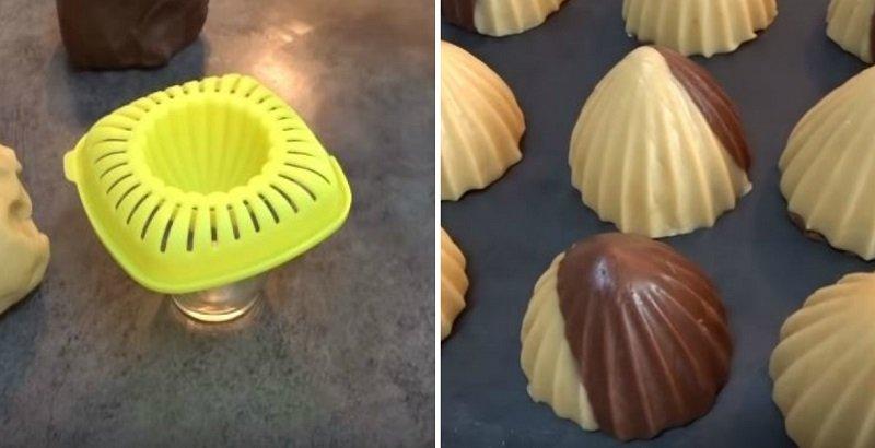 как сделать печенье с начинкой