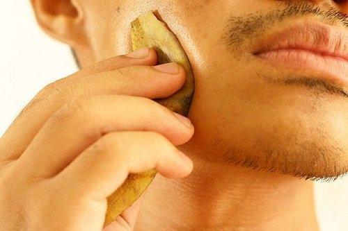 банановая кожура для кожи