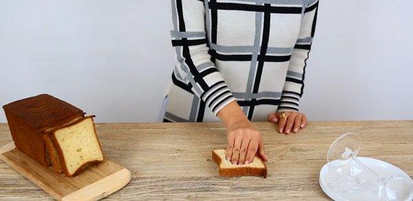 необычное использование хлеба