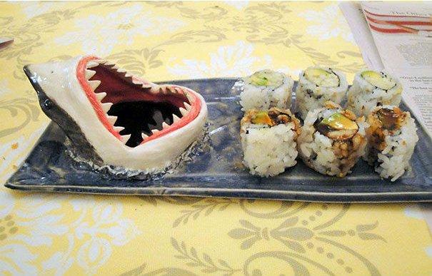 тарелка для суши