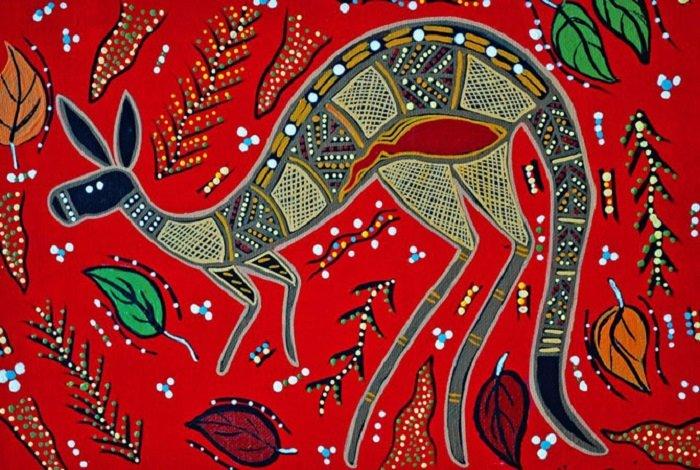 рисунки аборигенов австралии
