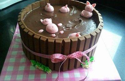 необычный торт