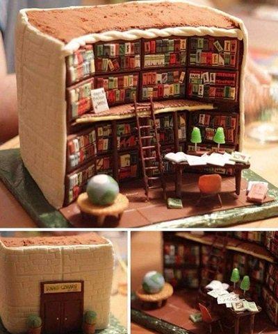 торт библиотека