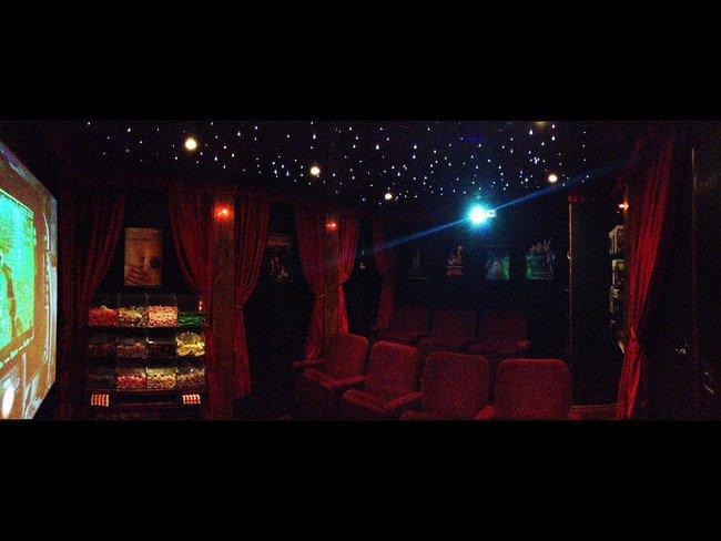 необычный домашний кинотеатр