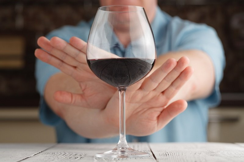 непереносимость крепкого алкоголя