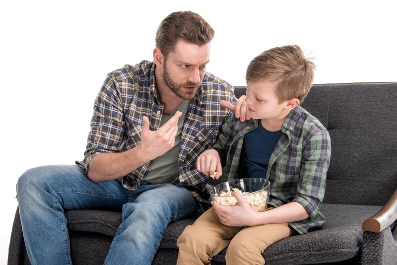 не слушается ребенок