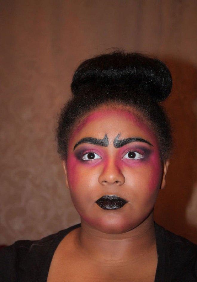 неудачный макияж фото