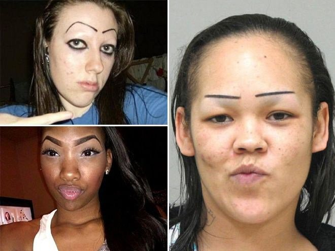 Terrible makeup