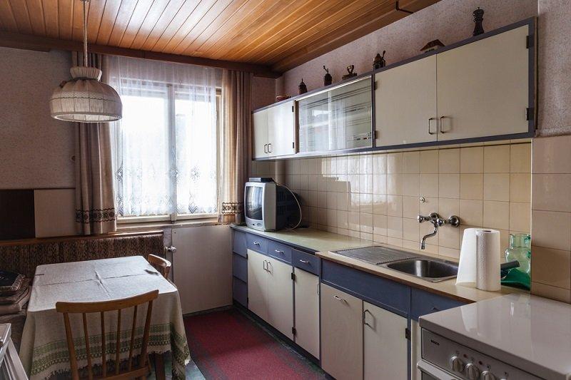 устаревшая кухня
