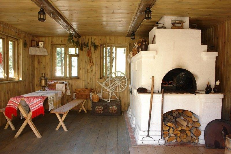 деревенская кухня фото