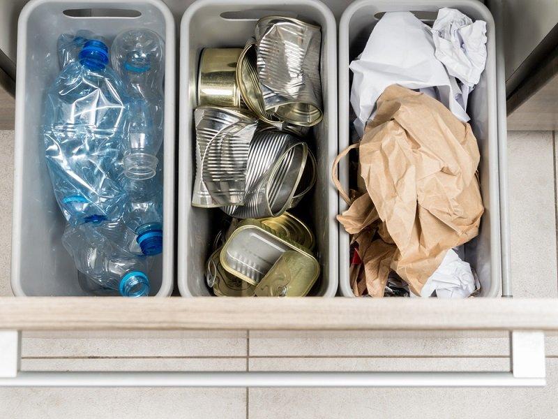 место для отходов